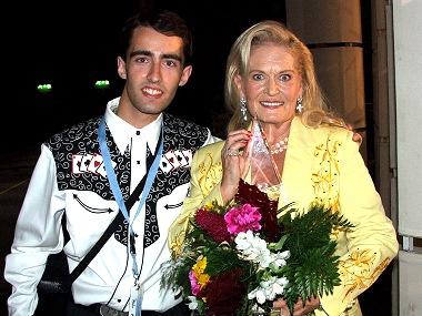 Lynn Anderson a Petr Mečíř