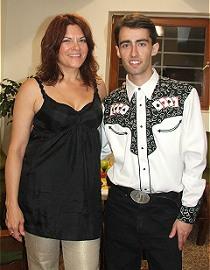 Rosanne Cash a Petr Mečíř